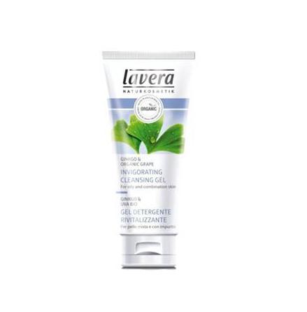 Lavera Faces invigorating cleansing gel eko