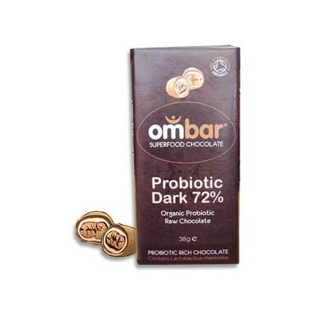 råchoklad mörk ekologisk med probiotika