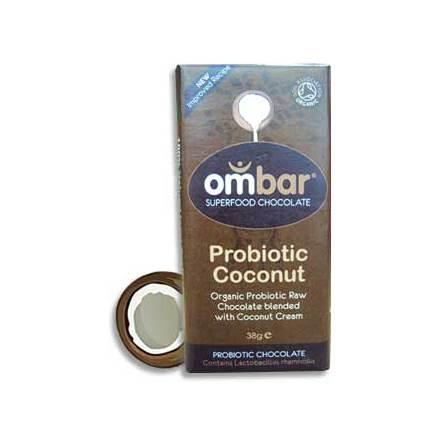 råchoklad eko med probiotika och kokosmjölk
