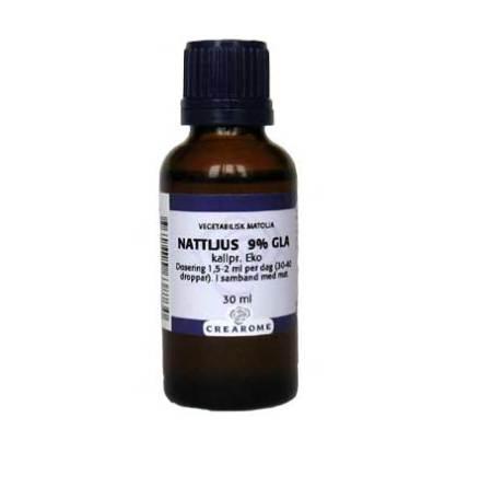 Nattljusolja kallpressad ekologisk, 30 ml Crearome