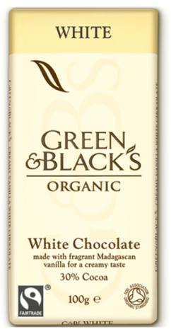 Vit choklad bourbonvanilj, ekologisk