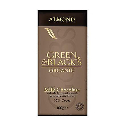 Mandelchoklad ekologisk Green & Black´s