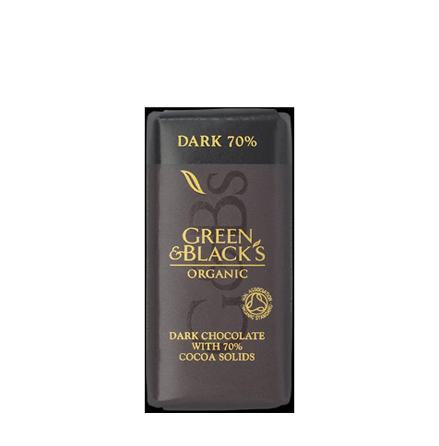 Mörk Choklad liten, ekologisk Green & Black´s