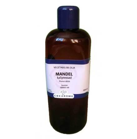Mandelolja kallpressad 500 ml
