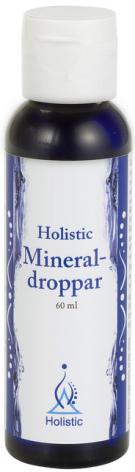 Mineraldroppar 60 ml, magnesiumtillskott Holistic