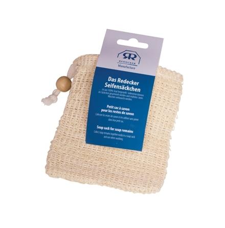 Tvålpåse i sisal - använd dina tvålrester