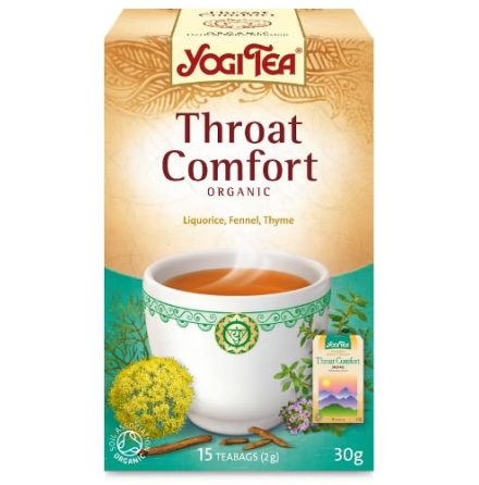 Throat Comfort, Yogi Tea Ekologiskt