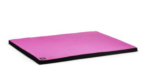 Zabuton - rosa, matta till meditationskudde