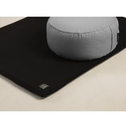 Zabuton - svart, matta till meditationskudde