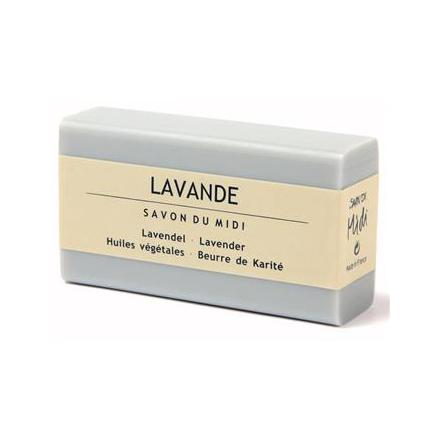 Lavendel, ekologisk tvål med sheasmör, Savon du Midi