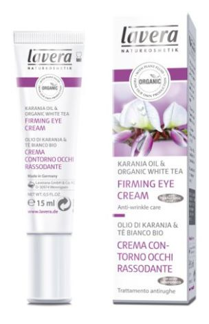 Ögonkräm ekologisk, Firming Eye Cream, anti-rynk Lavera