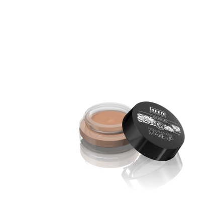 Natural Mousse Makeup, Almond 04, ekologisk Lavera