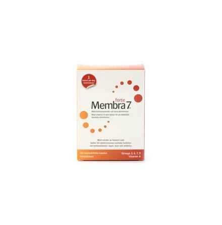 Membra7 Forte, Havtornsextrakt och vitamin A vid torra slemhinnor