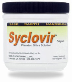 Syclovir - plankton silica, vid candidabesvär