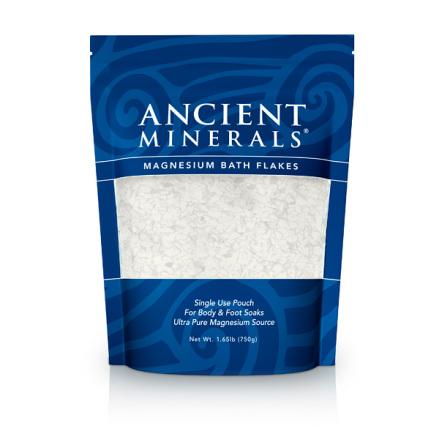 Magnesium badflingor, 750 g Ancient Minerals