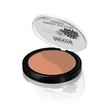 Sunset Kiss 02 Mineral Sun Glow Powder, ekologiskt Lavera
