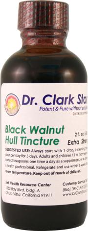 Valnötstinktur, gröna skalet av svart valnöt, extra stark, Dr. Hulda Clark