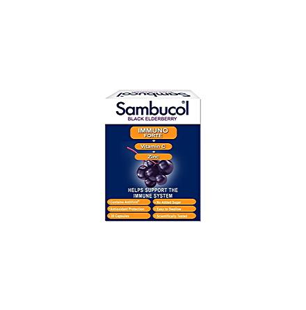 Sambucol kapslar, Immunoforte med vitamin C och zink