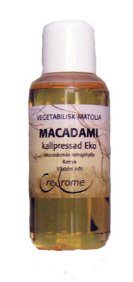 macadamiolja kallpressad eko 100 ml
