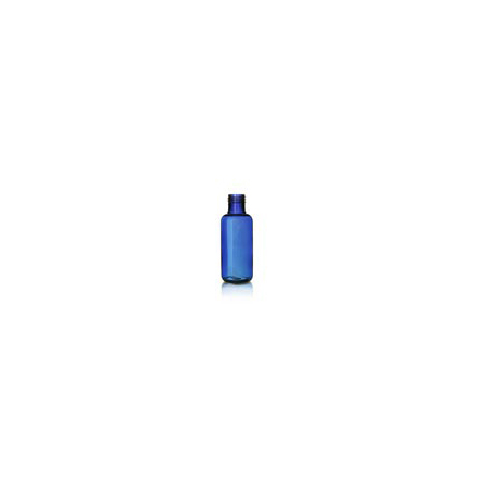 pet flaska blå 100 ml inklusive kapsyl