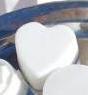 Tvålform 6 st hjärtan, formbar silikon