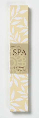 Quiet Mind, giftfri rökelse 10 stickor, Maroma