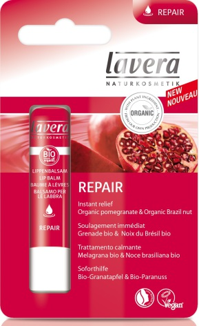Lipbalm Repair, ekologiskt läppbalsam från Lavera