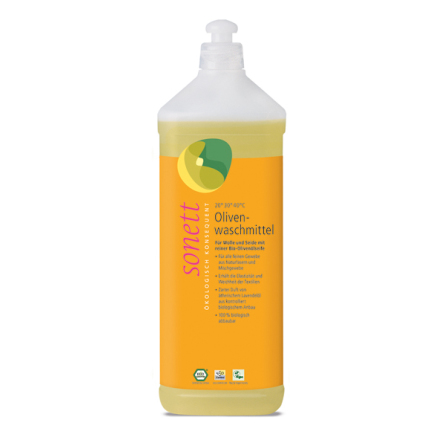 Tvättmedel för ull och silke, ekologiskt 1 liter, Sonett