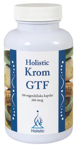 Krom, 100 kapslar från Holistic