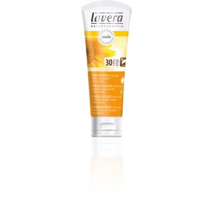 Solskyddskräm 30 SPF för barn och vuxen, ekologisk 75 ml Lavera