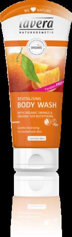 Bodywash Apelsin och Havtorn, 200 ml Lavera Body SPA