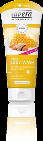 Bodywash honung och mandel, 200 ml Lavera