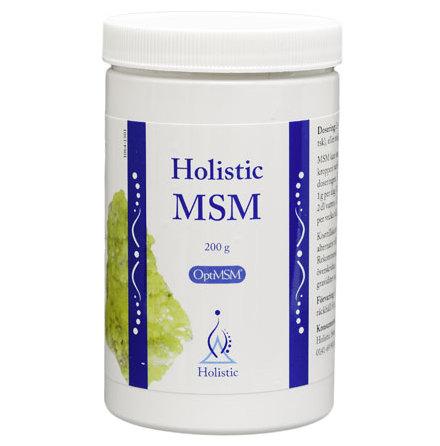 MSM, renande tillskott, 200g från Holistic