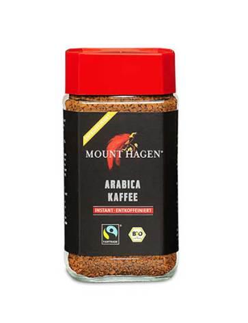 Snabbkaffe, koffeinfritt och ekologiskt, 100g Mount Hagen