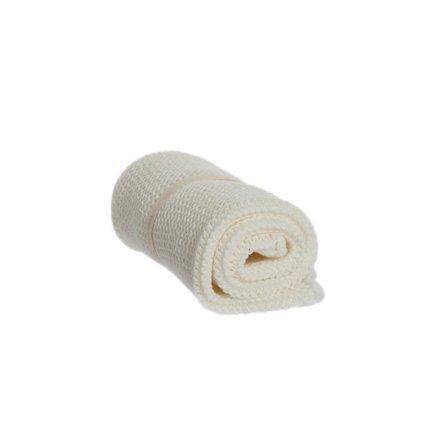Tvättlapp Vit, ekologisk bomull, Iris Hantverk