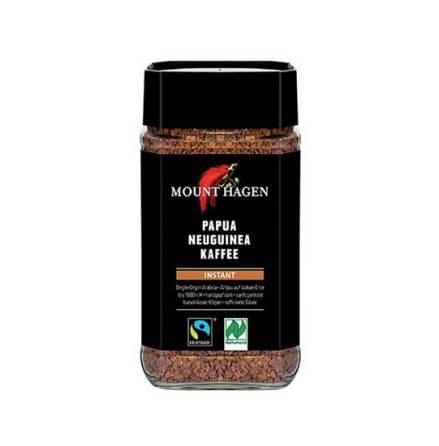 Snabbkaffe, ekologiskt och Fair Trade, 100 g Mount Hagen