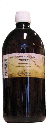 Tistelolja, ekologisk kallpressad 1 lit