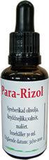 Para-Rizol, olivolja med kryddnejlika, malört och valnöt
