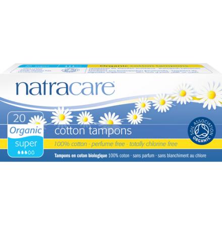 tampong super 20 st ekologiska,  NatraCare