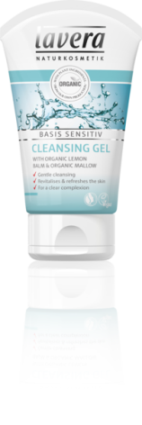 Cleansing Gel, lemon & mallow, Lavera