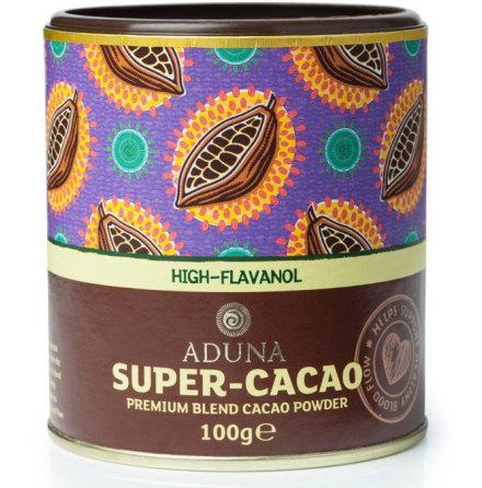 Superkakaopulver, hög flavanoidhalt, 100 g Aduna