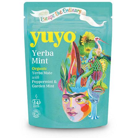 Yerba Mint, yerba mate med mint, ekologiskt