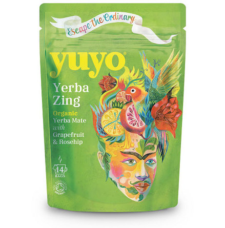 Yerba Zing, yerba mate med grape och nypon