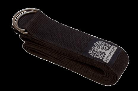 Yogabälte Svart, av ekologisk bomull