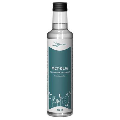 MCT-olja, från kokosolja, 250 ml Alpha Plus