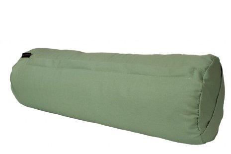 Yogabolster salviagrönt, ekologisk med boveteskal