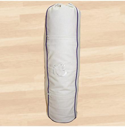 Väska för ullyogamatta, av bomull med dragsko