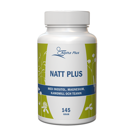 Natt Plus, kosttillskott för en bättre sömn, 145 g, Alpha Plus
