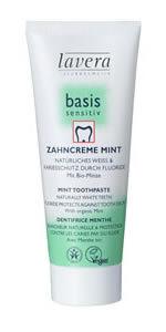 tandkräm mint lavera ekologisk med fluor