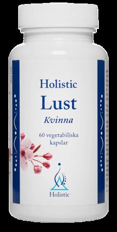 Lust Kvinna, Holistic 60 kapslar